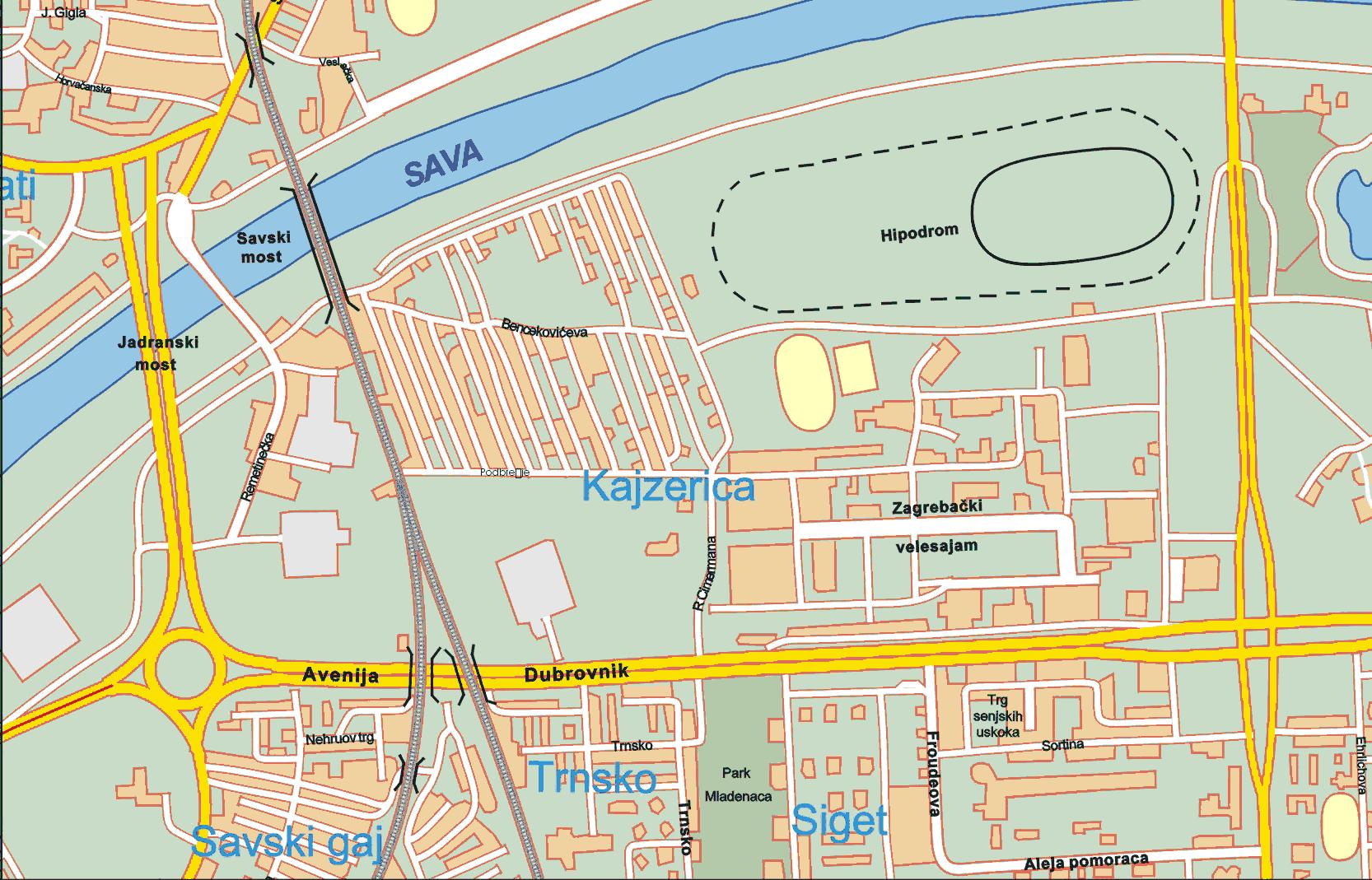 Glazbena karta grada zagreba ivan zajc altavistaventures Choice Image